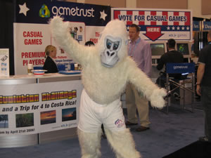 Big White Gorilla at GDC?